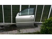 Toyota corolla 5 doors 2006 passenge r door r front door fitted from 2003 to 2007