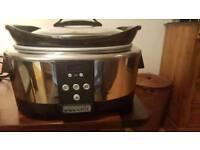 Crockpot SCCPBPP605 Next Generation Slow Cooker, 5.7 L