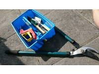 Wolf garten single handed shears plus loppers and more