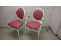 Beautiful shabby chic chair to Dressing tables