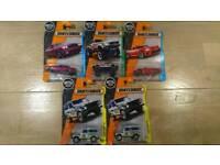 Matchbox and Hotwheels cars