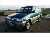 Nissan terrano ll 2.7td auto 7 seater 4wd with tow bar