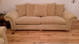 BARKER AND STONEHOUSE GRAND 4 SEATER SETTEE AND CHAIR