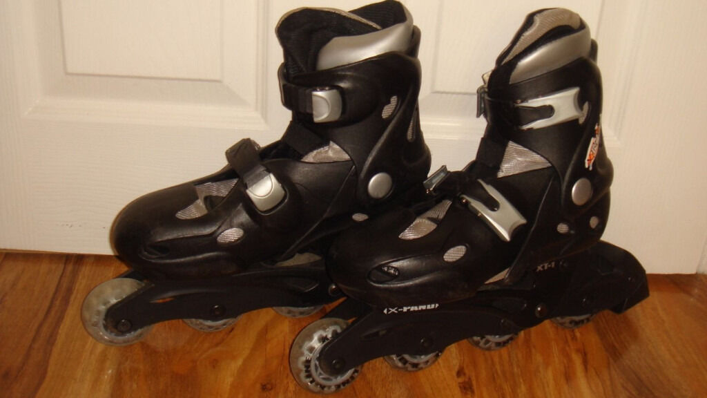 Xtreme Roller Blades, Size expandable UK 2-5, Very good condition - BOXED - £8.00