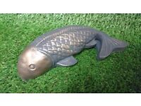 Koi carp concrete garden/pond ornament