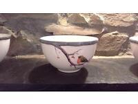 Beautiful Robin Bowls Set of 6