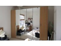 Ikea Pax Wardrobes - White Stained Oak