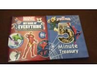 Marvel books x 2
