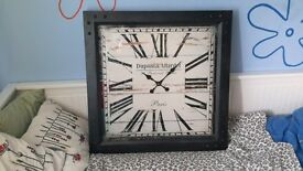 Beautiful brand new wall clock.