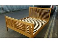 SOLID WOOD KING SIZE BED FRAME CAN DELIVER