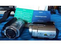SONY HANDYCAM HDR-SR5 CAMCORDER HIGH DEFINITION 40GB HDD x 2