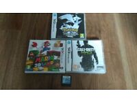 4 x 3DS & DS Games inc Mario 3D Land & Pokemon Black Edition