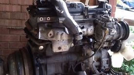 Toyota Granvia Diesel Engine, 1KZ TE