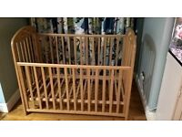 COT MOTHERCARE PLAYBEAD BEDROOM CHILD BABY BED XMAS VISITORS