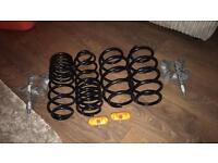 MK6 Ford Fiesta lowering springs , rear wheel spacers and lowering springs