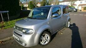 Nissan cube Kaizen CVT in silver and beautiful condition.
