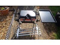 fishing box & platform & side tray ,,,,,,docking/fakenham