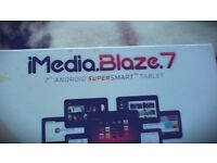 "IMedia Blaze 7 Android Supersmart 7"" Tablet"