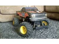 Rc monster truck blackfoot xtreme upgraded
