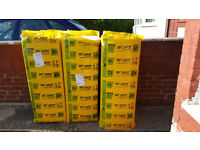 3x 100mm Isover Cavity Insulation