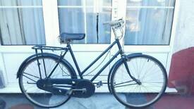 rare 1940s vintage retro bike with dynamo