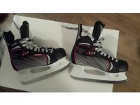 size 6-6.5 212 baud ice skates worn twice