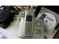 Siemens wireless telephone set