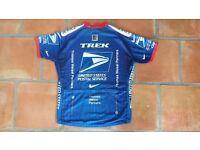 "US Postal Nike Trek Armstrong ""XL"" Cycling Jacket Shirt Jersey Trikot Shortsleeve"