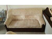 Sofa and 2 armchair