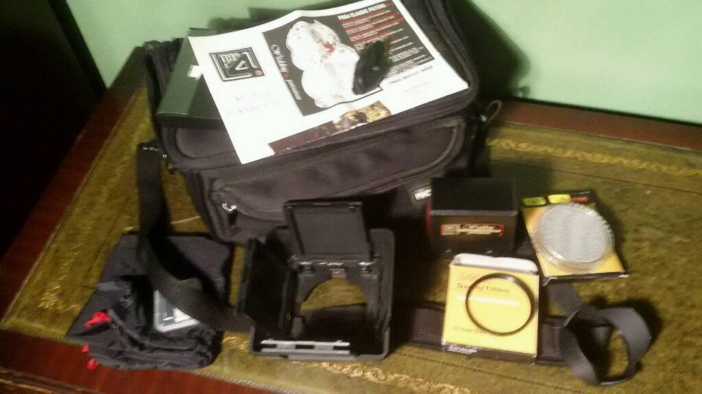 Digital camera filters accessories bundle