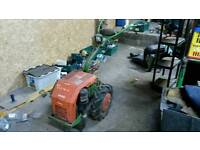 Agria 3400 KL two wheel tractor.