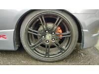 Silver/ grey EP3 or accord typeR wheels wanted, may swap my black wheels