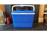 42L coolbox, pair of camping chairs, gas stove, single air bed (brand new), water canister