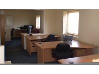 4-5 Person Office Rental fr £150wk 2 mins off Eastern Rd. Fully Serviced/24hr Access/Car Pk