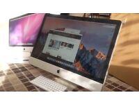 "Apple Imac 27"" Core 2 Duo Processor + 1TB, 8GB ram, Logic Pro, Final Cut, Microsoft. Computer"