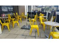 Cafe metalic Chairs