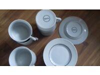 12 pce modern tea set