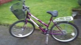 bicycle for sale £100 ono 07808791698