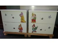 Disney bedside drawers