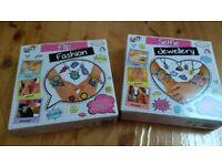 Kids craft toys _ NEW STILL BOXED _Spa Science- Flip Fashion- Selfie Jewellery- Kalaha