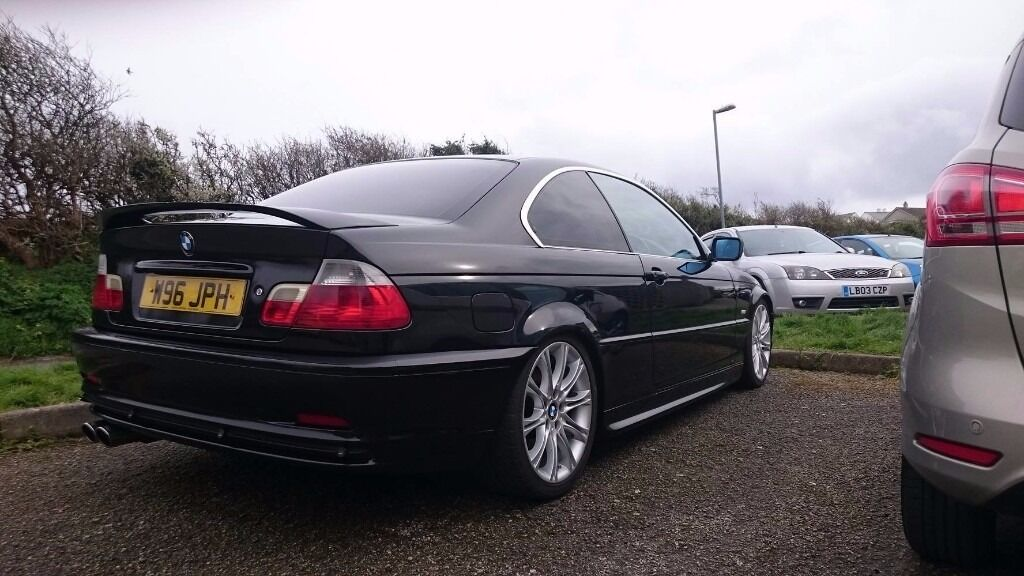 bmw e46 328ci coupe metallic black in porthleven cornwall gumtree. Black Bedroom Furniture Sets. Home Design Ideas