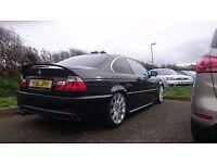 BMW E46 328CI Coupe Metallic Black