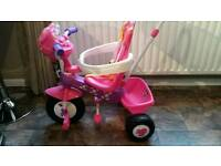 Minnie mouse pink electronic trike (mint condition never ever used)
