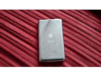 Apple ipod. Silver 160gb generation 6, dent on back in good working order no charger & lead.
