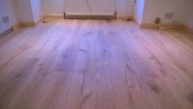 Extra Wide Solid Oak Boards Planks Hardwood Flooring -