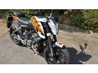 KTM Duke 125, 2015, Perfect condition