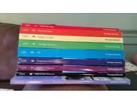 Open University S104 Science texts