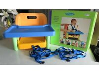 BOXED MOTHERCARE DELUXE FOLD UP BOOSTER SEAT / HIGHCHAIR