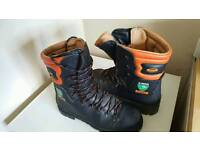 Chainsaw boots size 12 -13