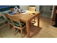 Dinning-Extending Table - with Chairs